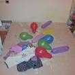 Събуждане с балони. Някой беше ни изненадал без да го забележим :)