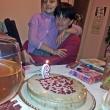Още една торта ни чака и вкъщи. Силвия беше наредила масата и ни изненада приятно.