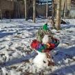 Снежен човек - манекен 01