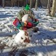 Снежен човек - манекен 02