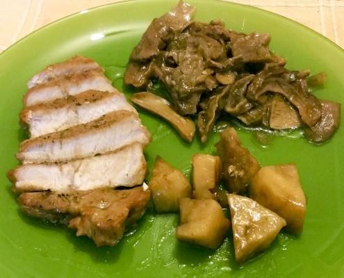 Свинско с манатарки
